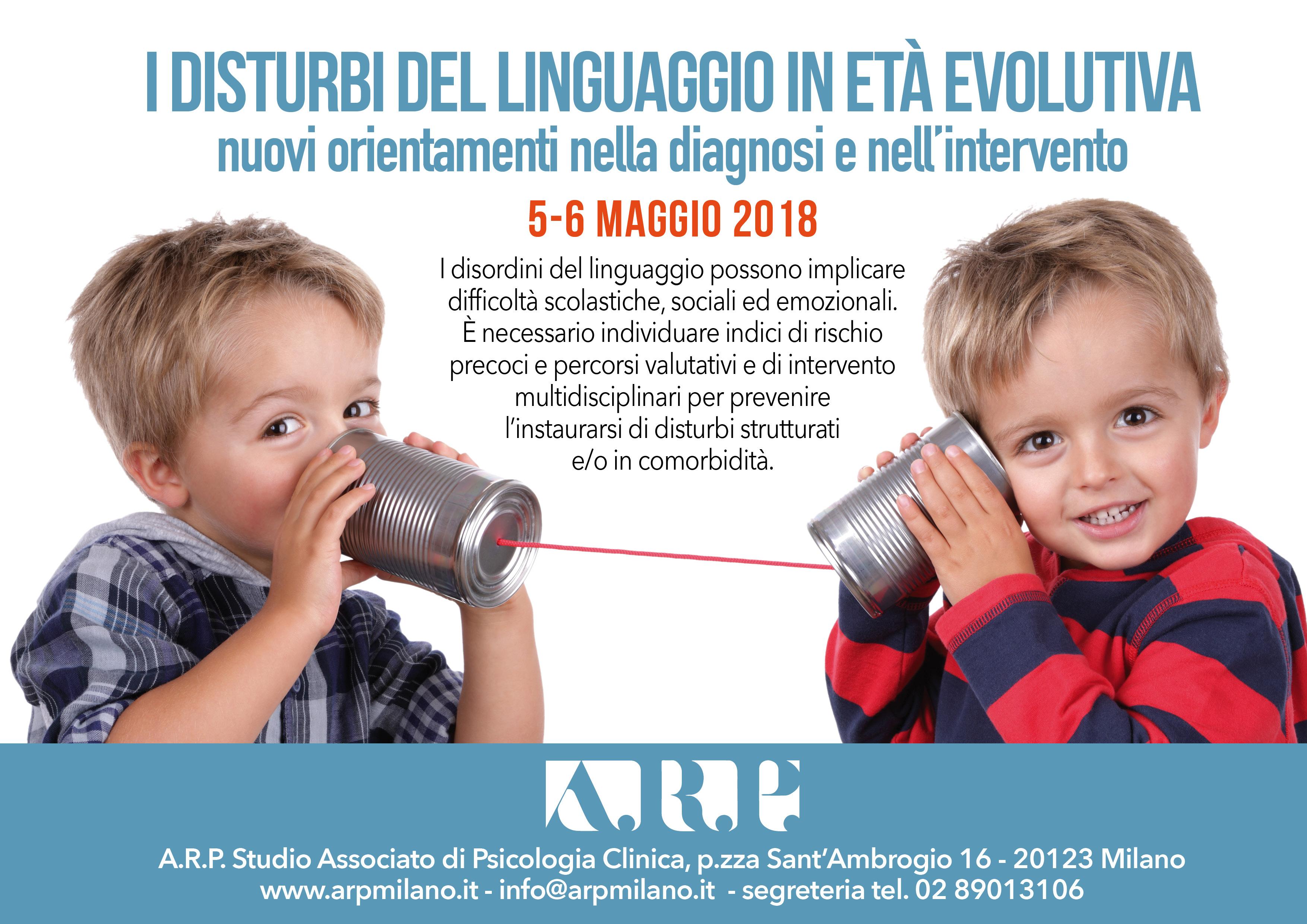 I Disturbi Del Linguaggio In Età Evolutiva: Nuovi Orientamenti Nella Diagnosi E Nell'intervento