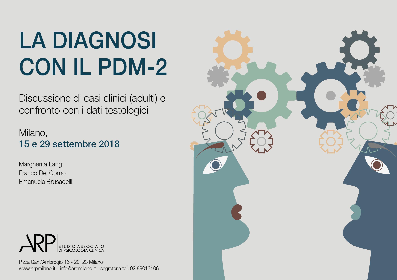 La Diagnosi Con Il PDM-2. Discussione Di Casi Clinici (adulti) E Confronto Con I Dati Testologici