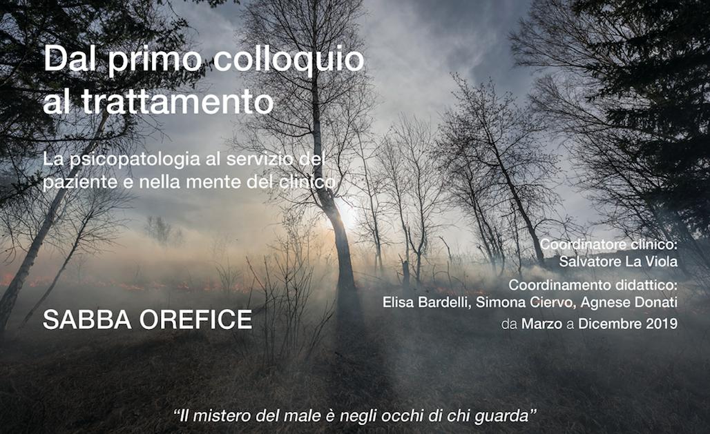 """Master """"Dal Primo Colloquio Al Trattamento"""" – Edizione 2019"""