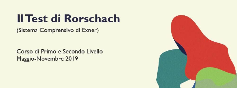 Corso Rorschach – I E II Livello